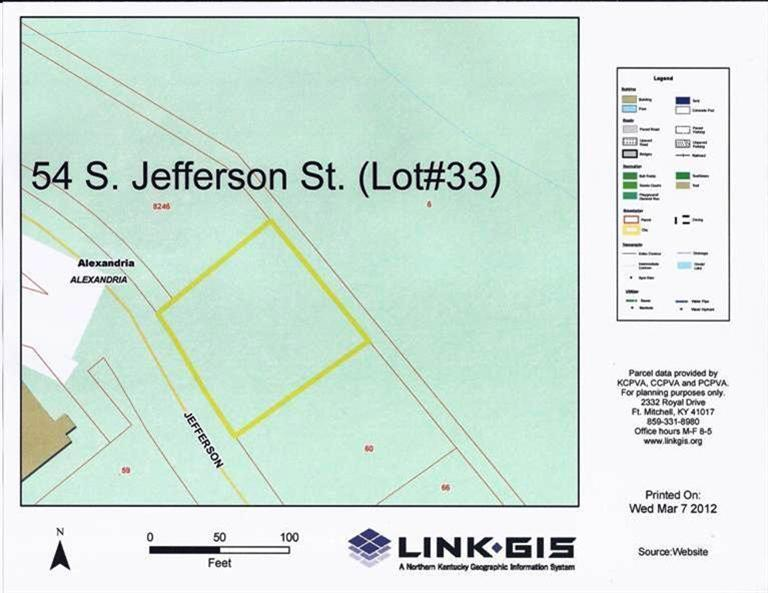 54 S Jefferson St, lot33 Alexandria, KY