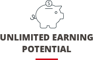 Imagine the unlimited earning potential
