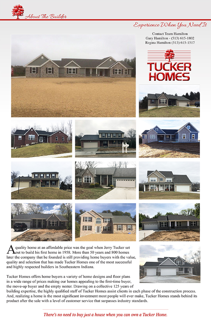 Tucker Homes a quality home at an affordable price