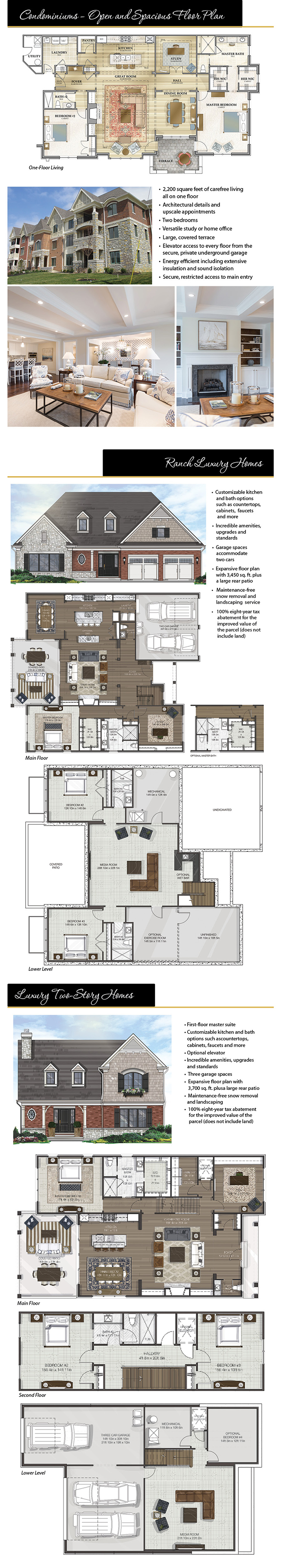Park Manor Floor Plan Rendering