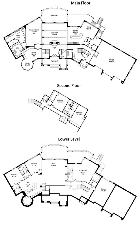 Clayton Douglas Belle Hampton Floor Plans 2