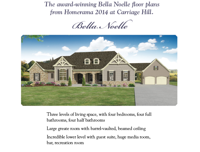 Clayton Douglas Belle Nolles Floor Plans 1