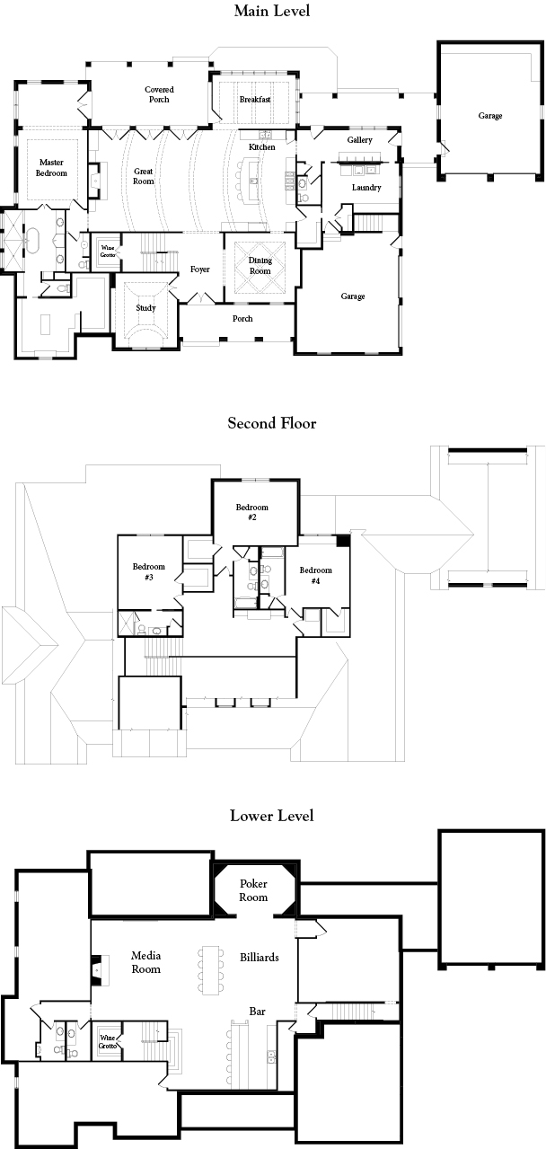 Clayton Douglas Belle Nolles Floor Plans 2
