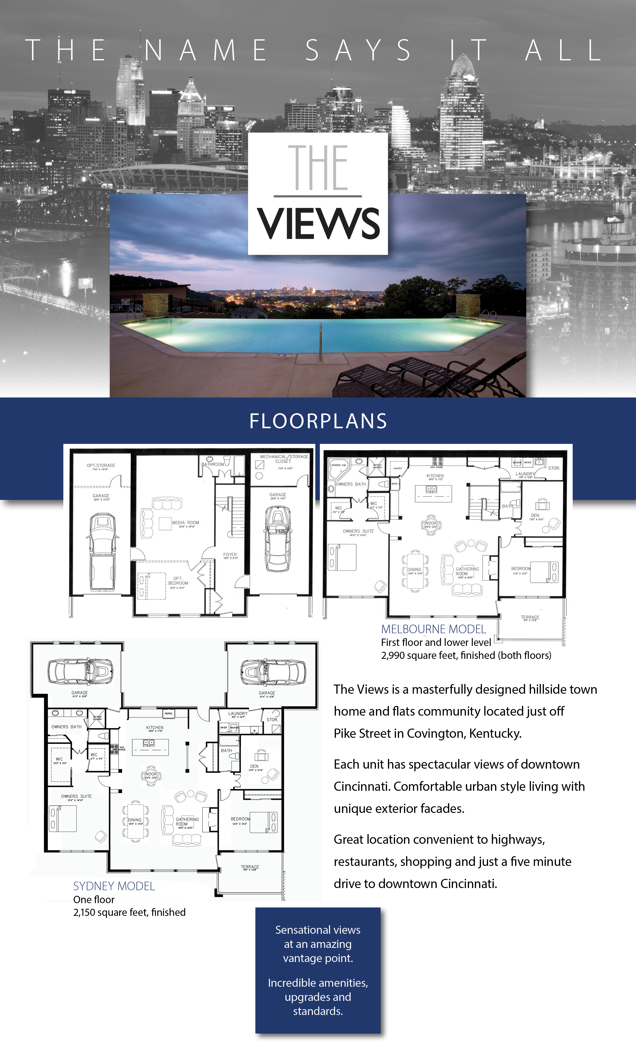 The Views Floorplans