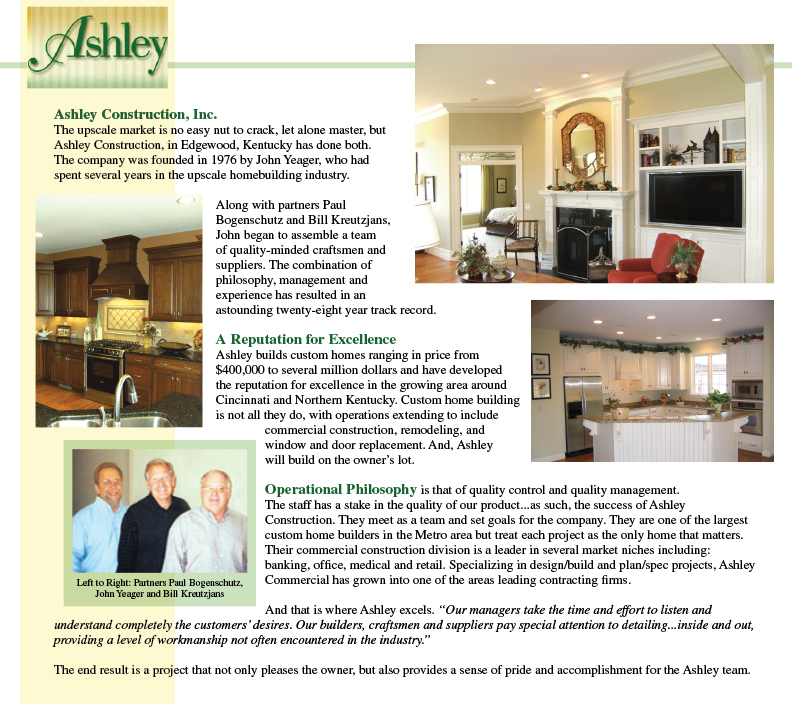 City View By Ashley Construction, Inc.