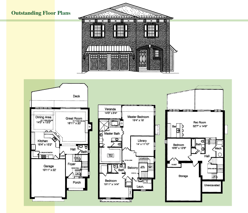 City View By Ashley Construction, Inc. Floor Plan Renderings 2