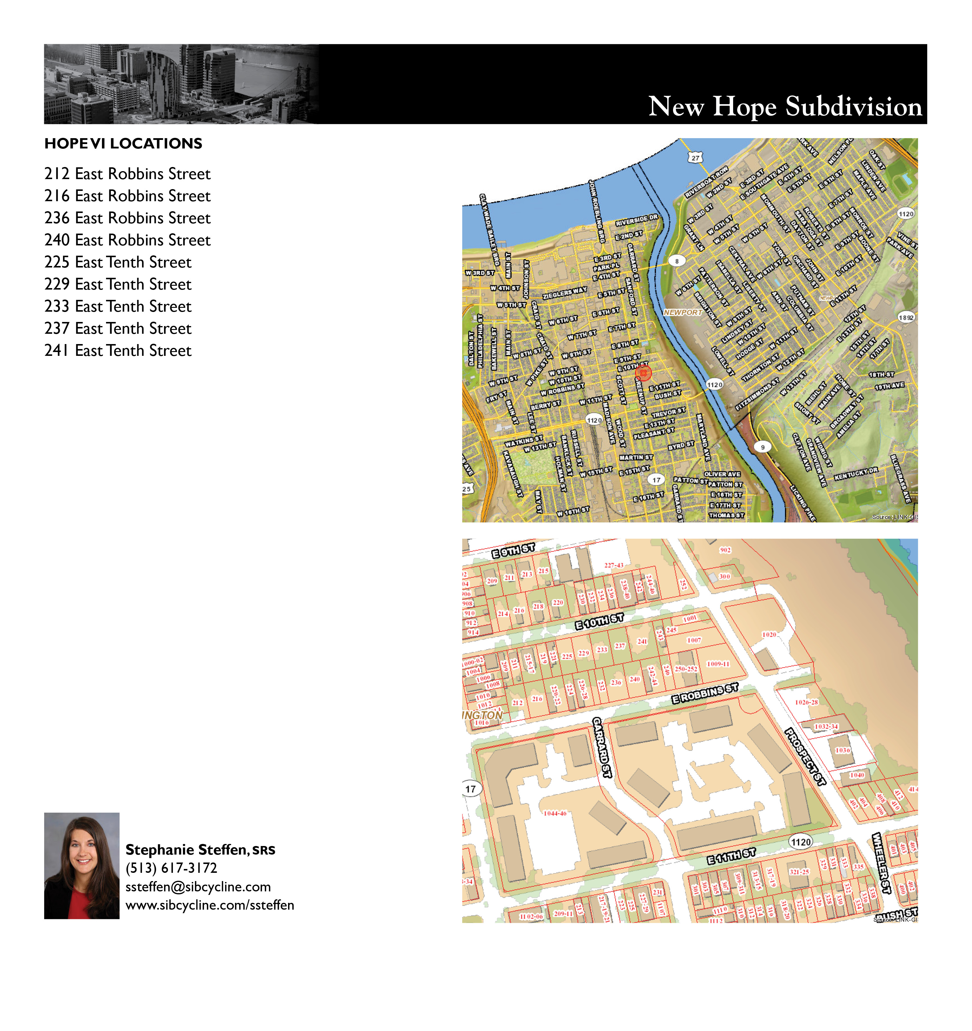 New Hope Subdivision Location Rendering
