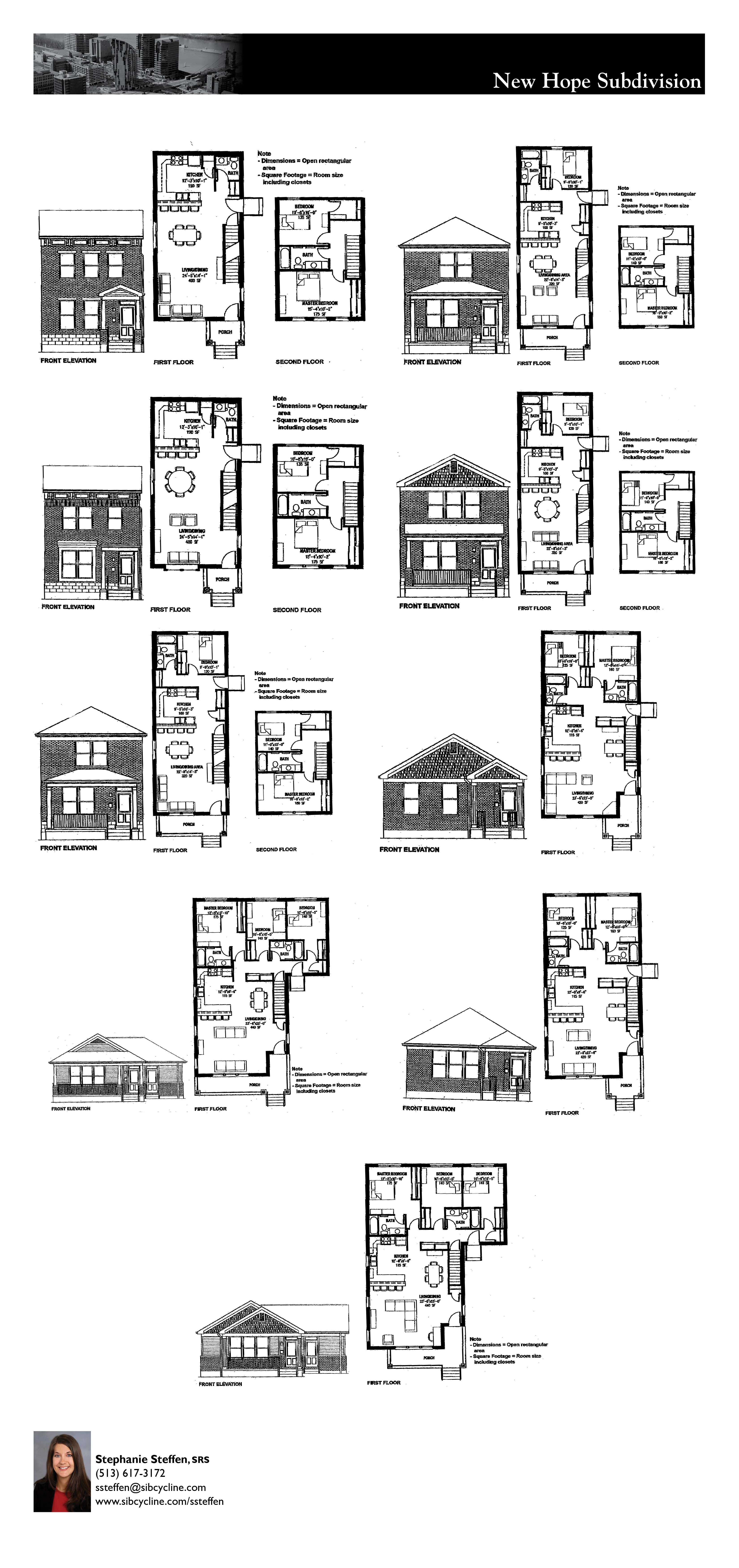 New Hope Subdivision Floor Plan Rendering
