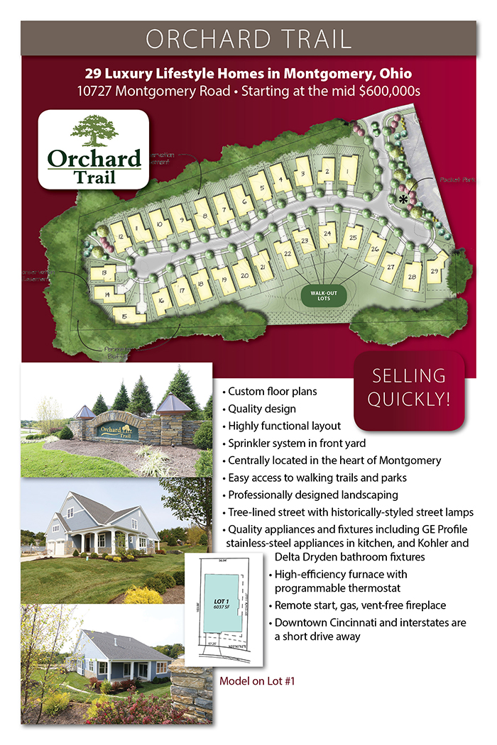 Orchard Trail Locations