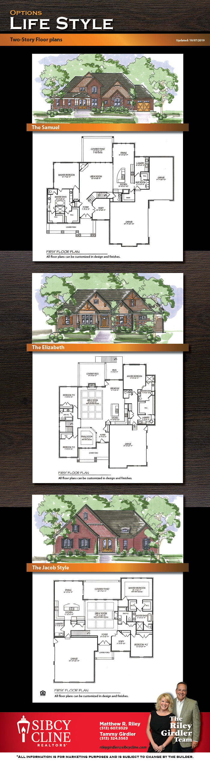 Reichert Homes Floorplans
