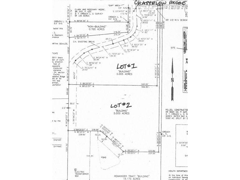 2 Lot Chappelow Ridge Rd
