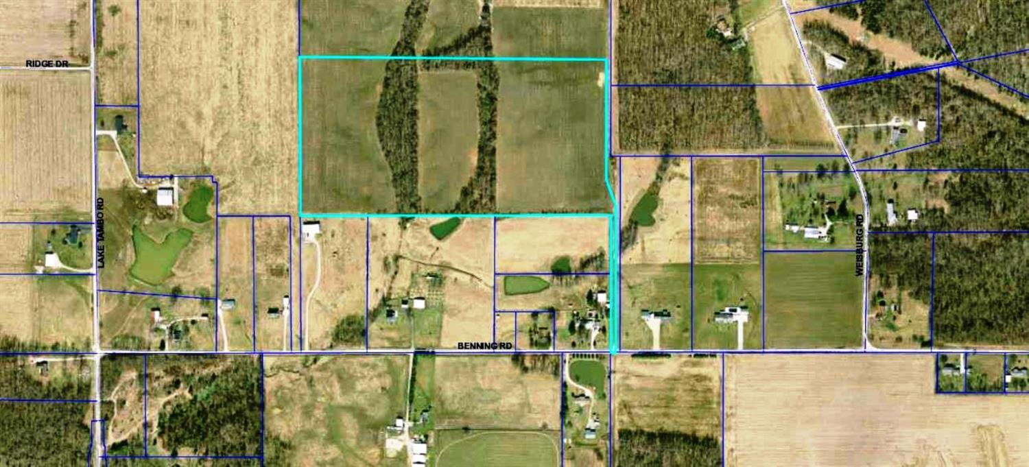 real estate photo 1 for 30.000ac Benning Rd Manchester, IN 47041