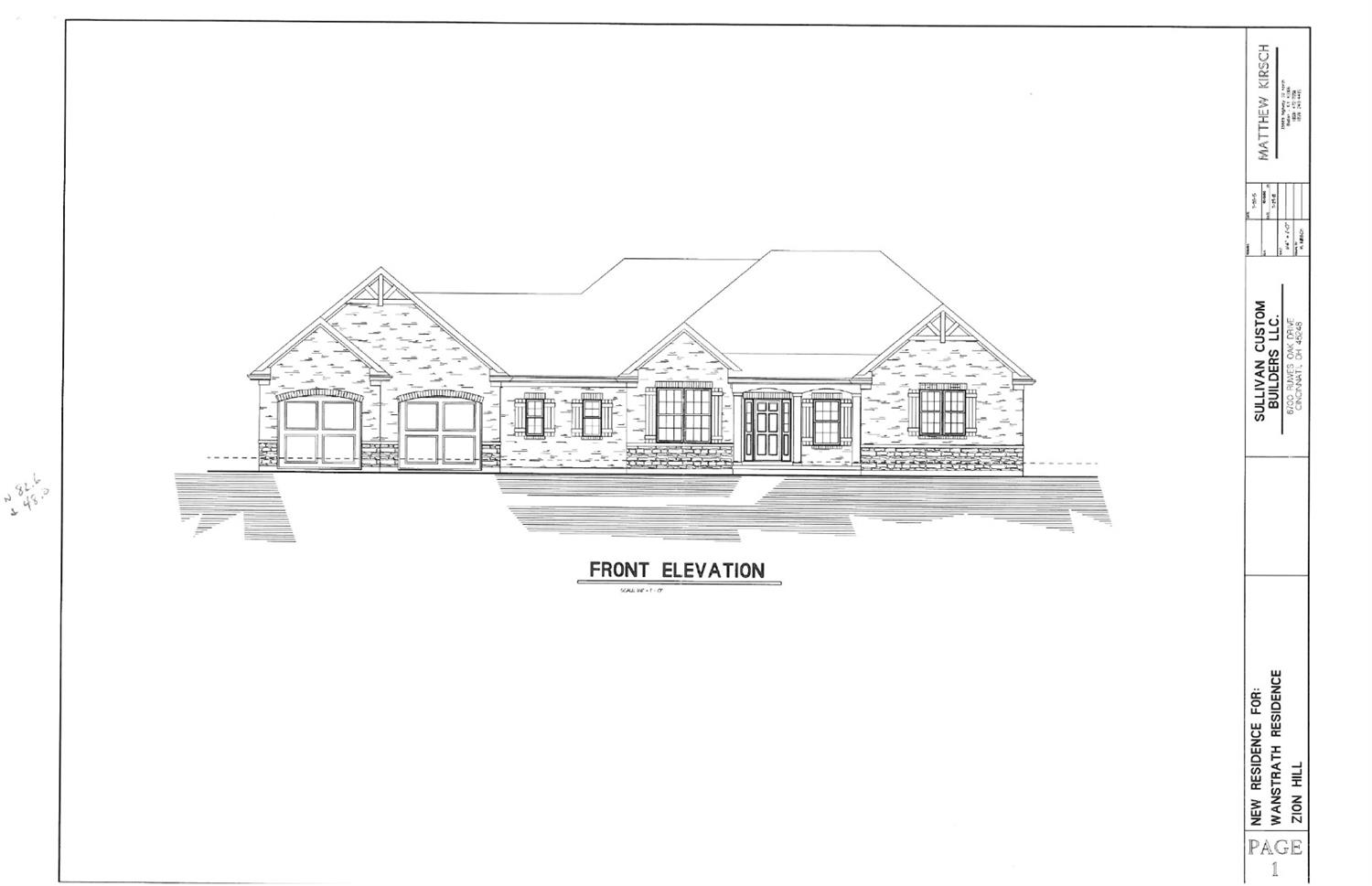 3 Lot Zion Hill Rd Miami Twp. (West), OH