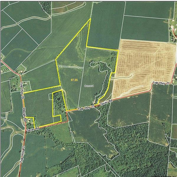 97.486ac N Sever Rd Ross County, OH