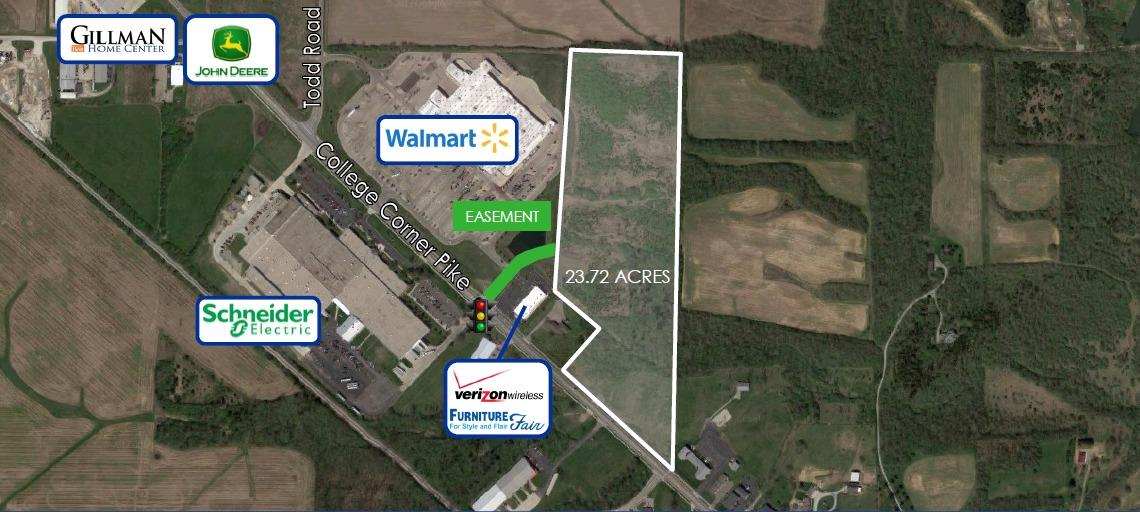 23.72ac College Corner Pk Oxford, OH
