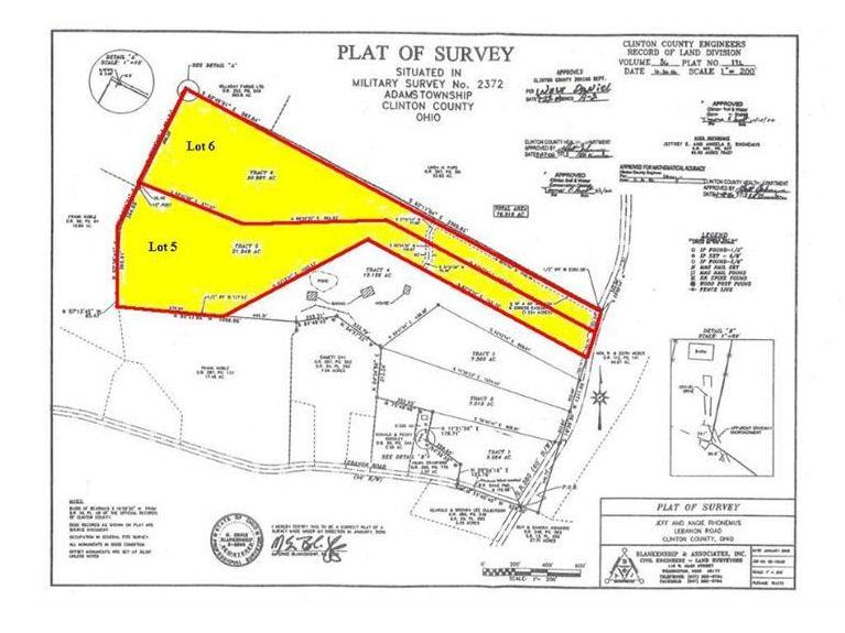 Lot 5&6 St Rt 380 Adams Twp, OH