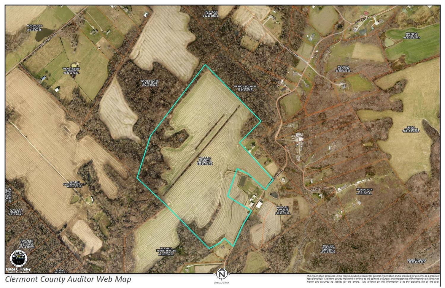 68 ac Hopewell Rd Franklin Twp., OH