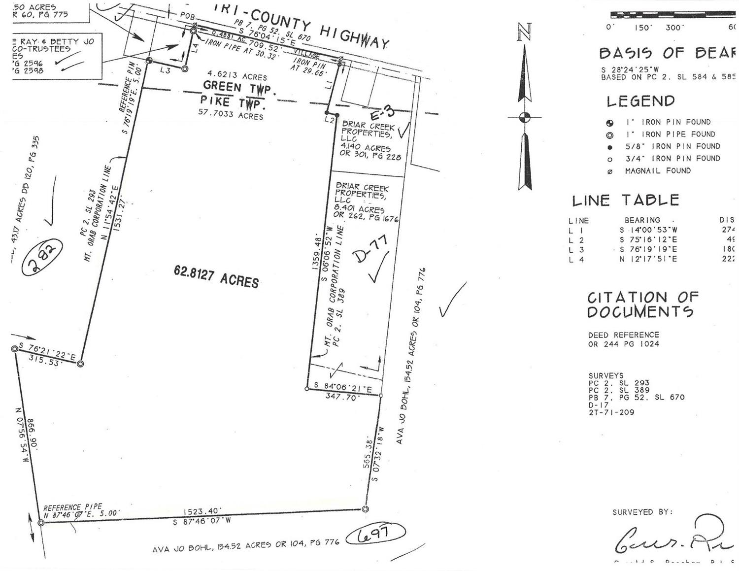 0 62.81ac Tri County Highway Pike Twp., OH