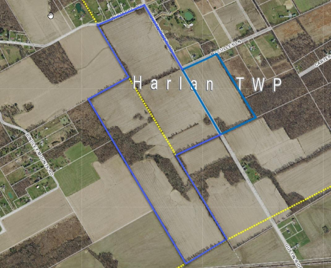 0 218ac Gustin Rider Harlan Twp., OH