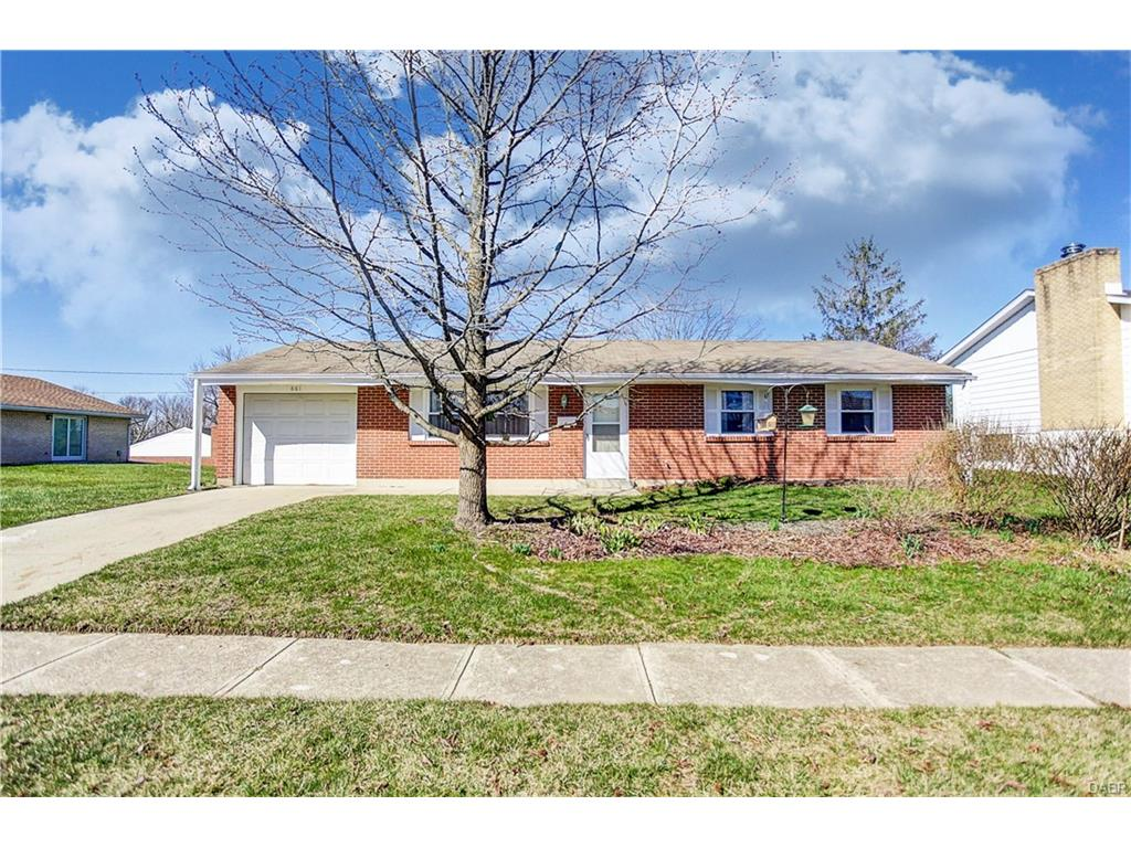 861 Mardel Dr West Carrollton, OH