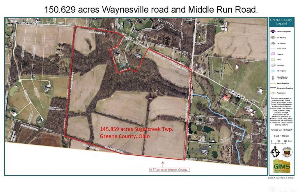 3841 Waynesville Rd Waynesville, OH