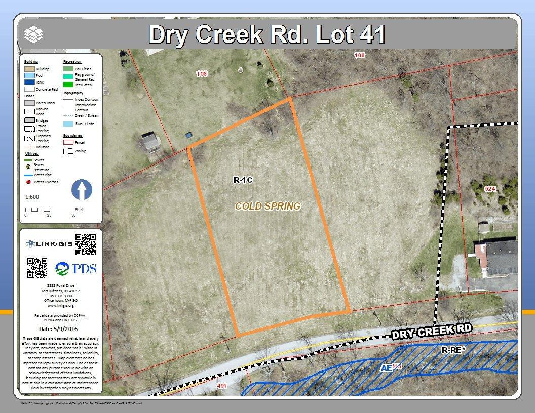 Photo 1 for Dry Creek Rd, lot41 Cold Spring, KY 41076