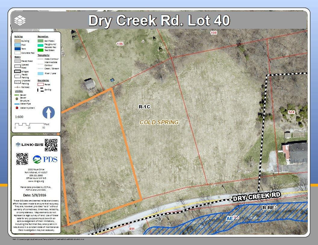 real estate photo 1 for Dry Creek Rd, lot40 Cold Spring, KY 41076
