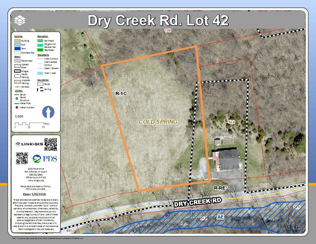 Photo 1 for Dry Creek Rd, lot42 Cold Spring, KY 41076