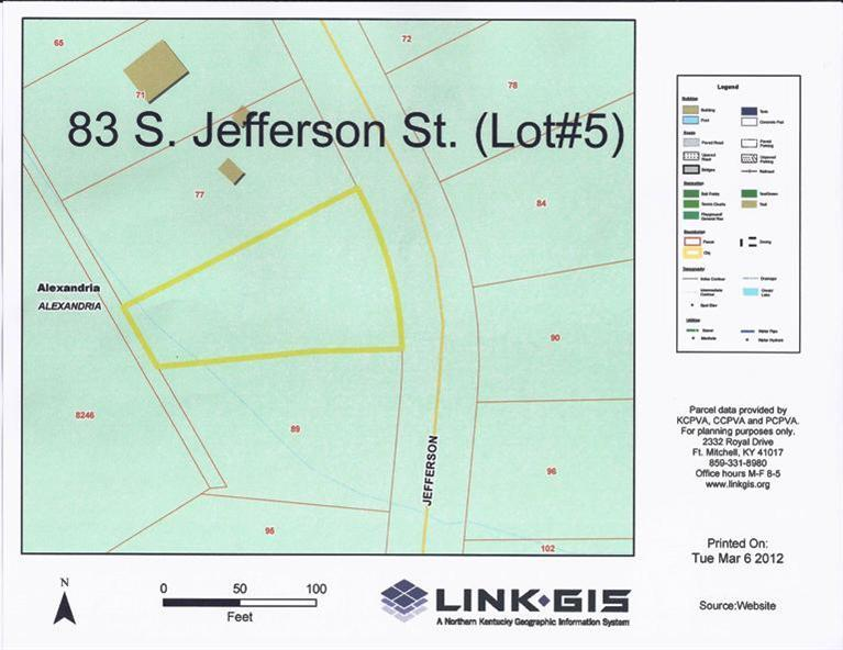 real estate photo 1 for 83 S Jefferson St, lot 5 Alexandria, KY 41001