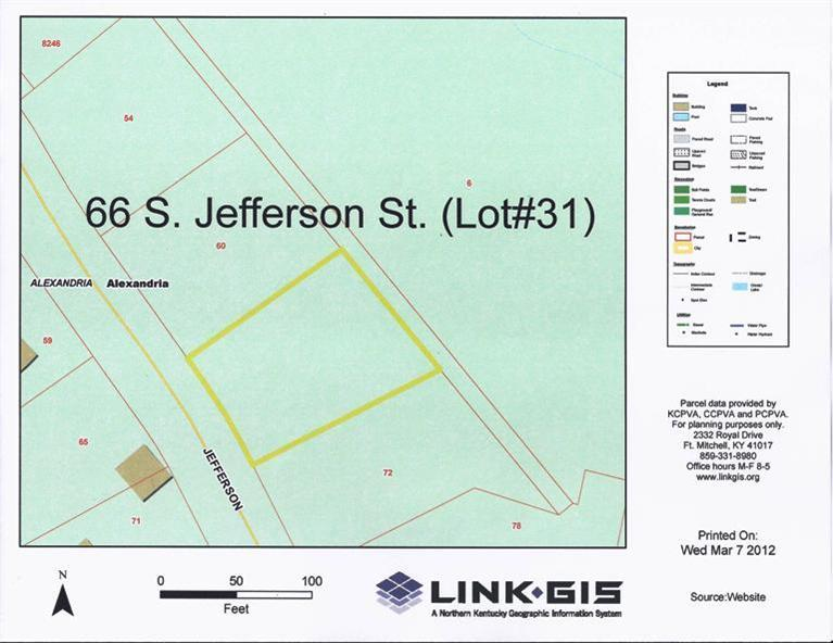 real estate photo 1 for 66 S Jefferson St, lot31 Alexandria, KY 41001