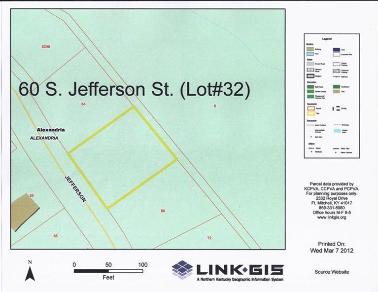 real estate photo 1 for 60 S Jefferson St, lot32 Alexandria, KY 41001
