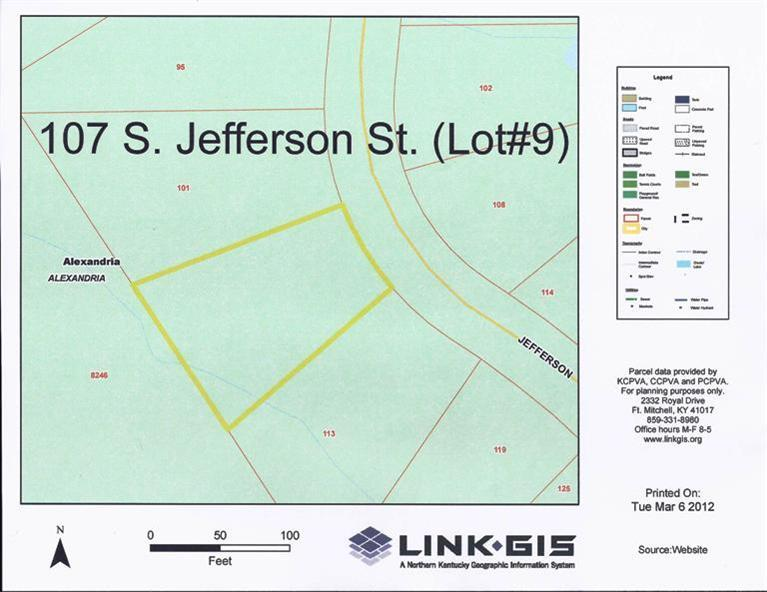 real estate photo 1 for 107 S Jefferson St, lot 9 Alexandria, KY 41001