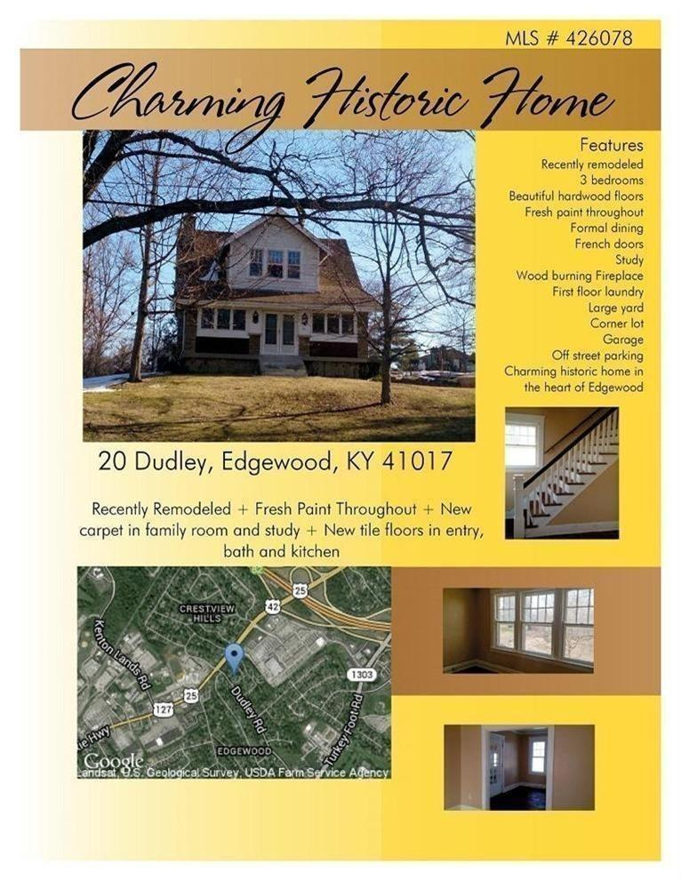 real estate photo 1 for 20 Dudley Edgewood, KY 41017