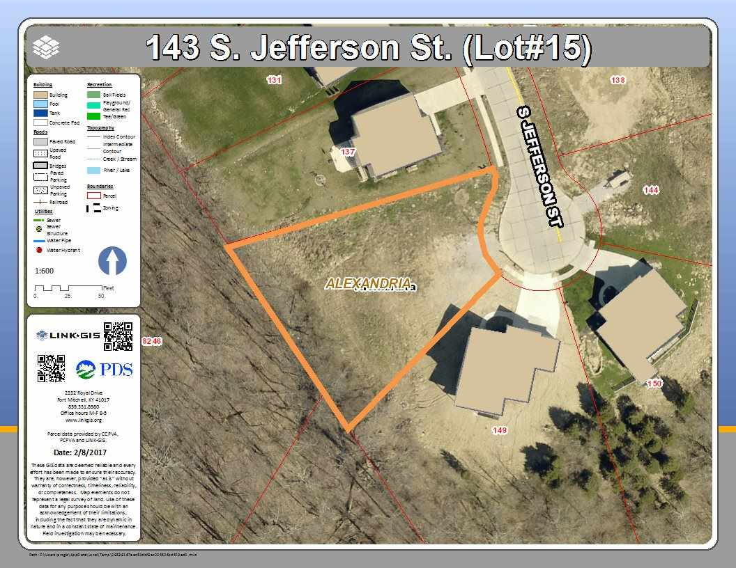 real estate photo 1 for 143 S Jefferson St, lot15 Alexandria, KY 41001
