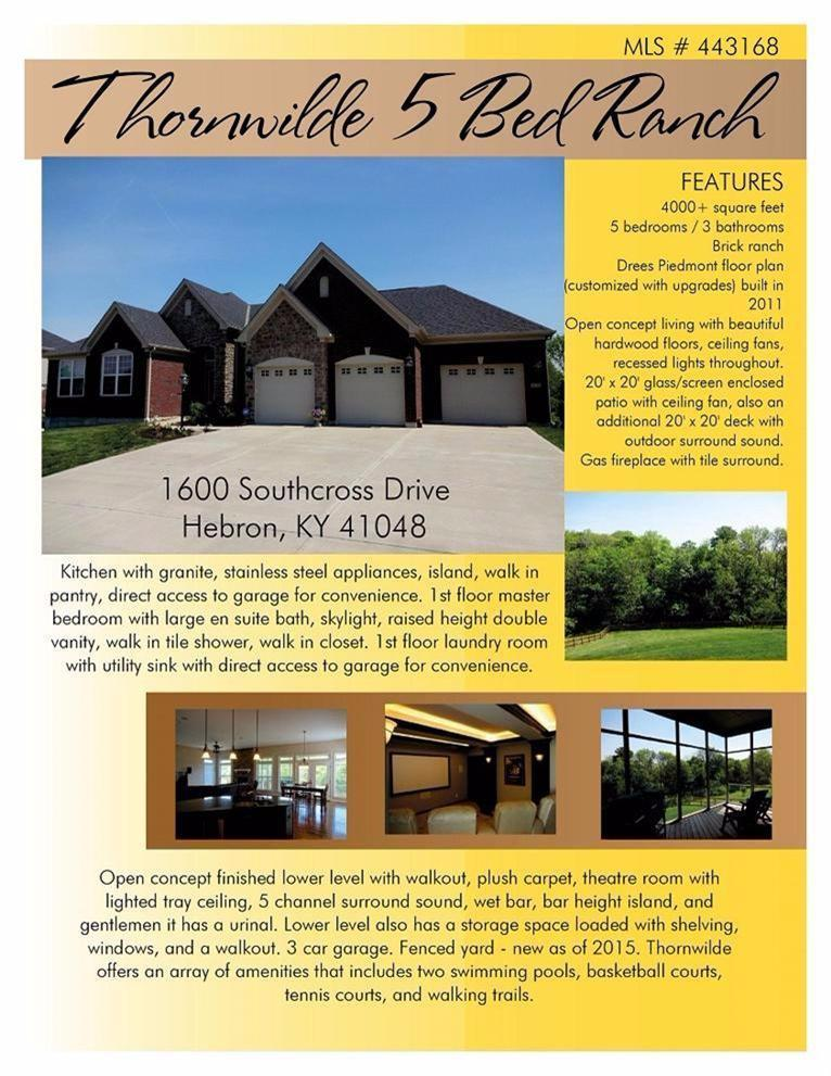 real estate photo 1 for 1600 Southcross Dr Hebron, KY 41048