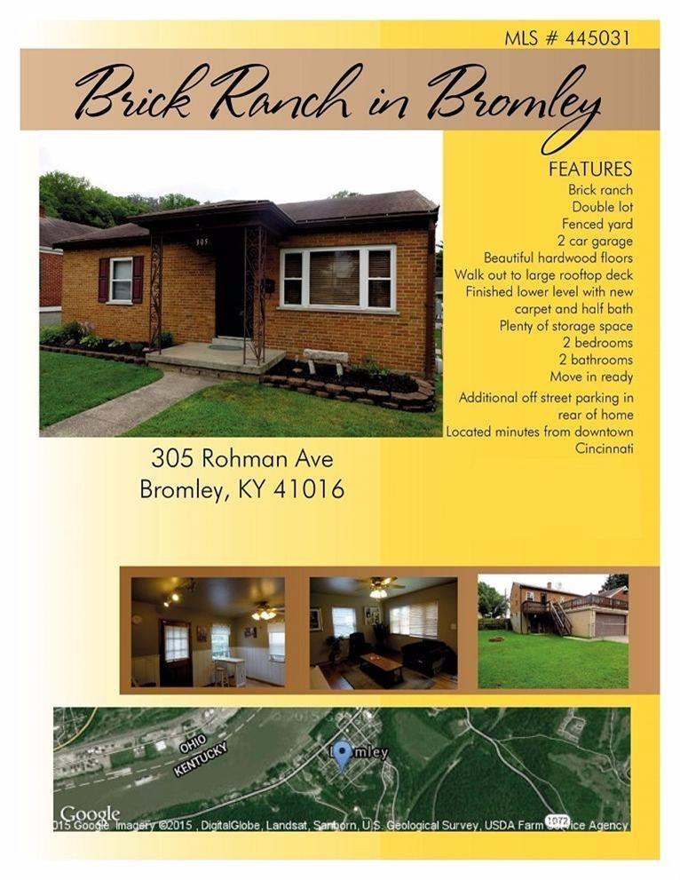 real estate photo 1 for 305 Rohman Ave Bromley, KY 41016
