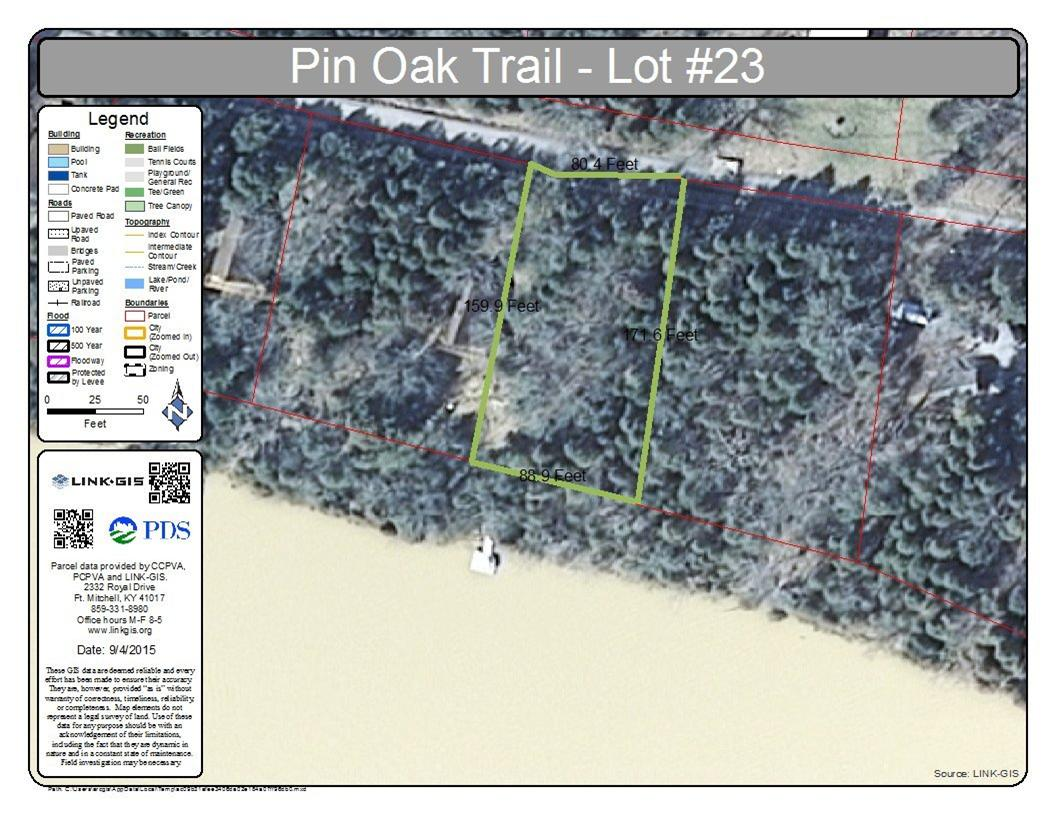 Photo 1 for Pin Oak Trl, lot23 Falmouth, KY 41040