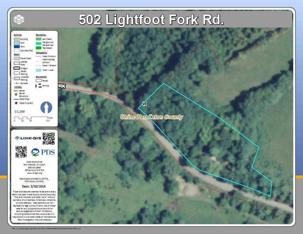 Photo 1 for 502 Lightfoot Fork Rd Falmouth, KY 41040