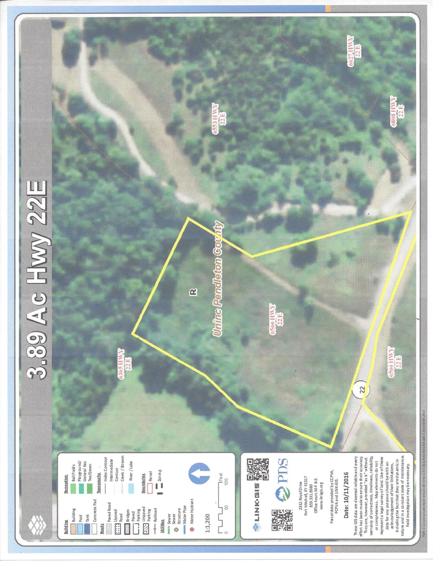 real estate photo 1 for 3.8Ac Hwy 22E Falmouth, KY 41040