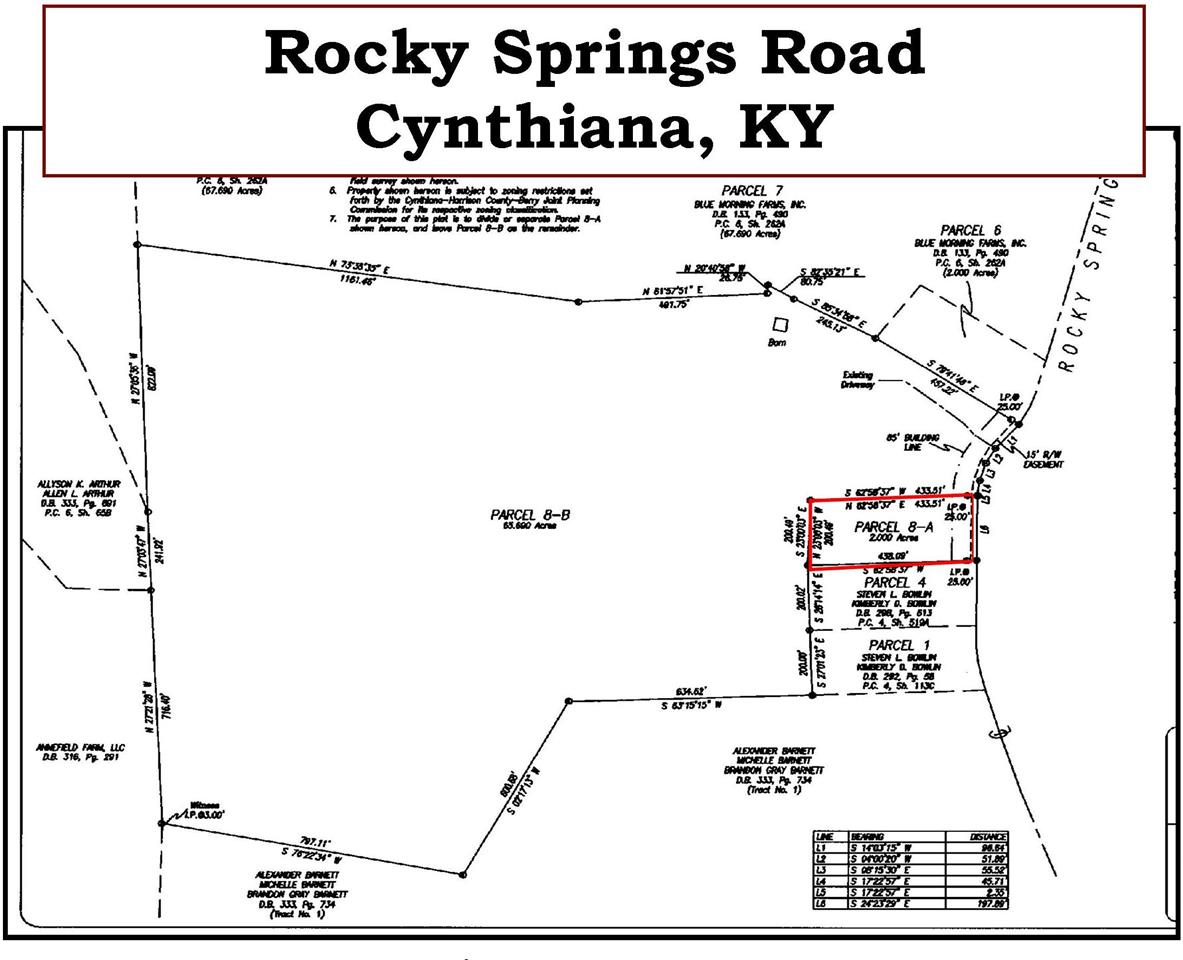 Photo 1 for Rocky Springs Rd Cynthiana, KY 41031
