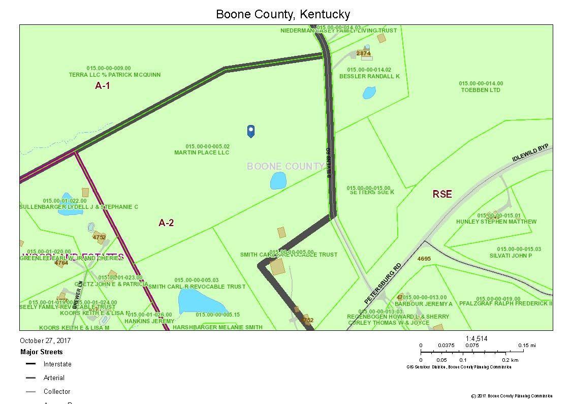 Map Of Hebron Kentucky MAP Hebron Estates Kentucky KY 40165