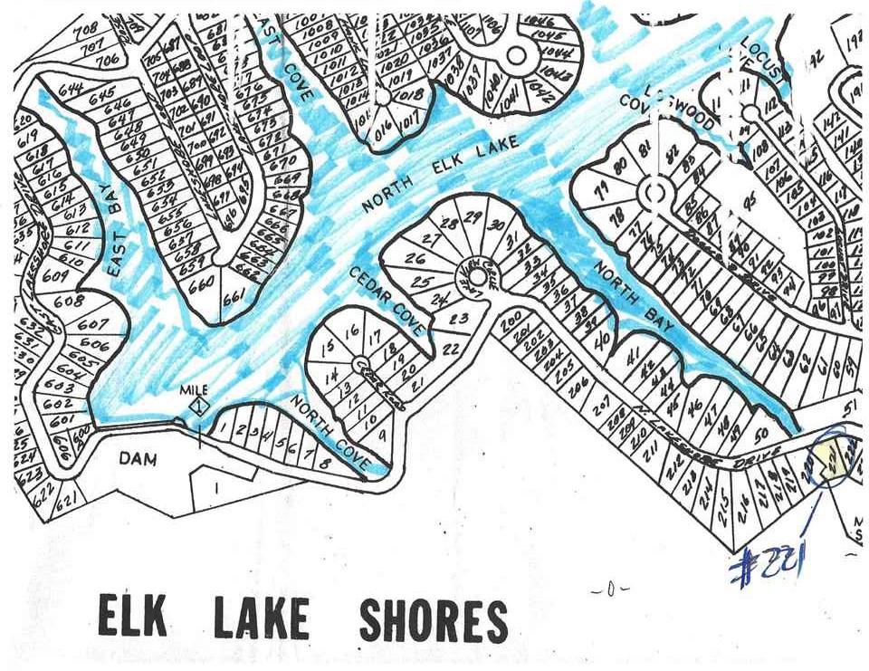 445 Elk Lake Resort , LOT 221 Rd