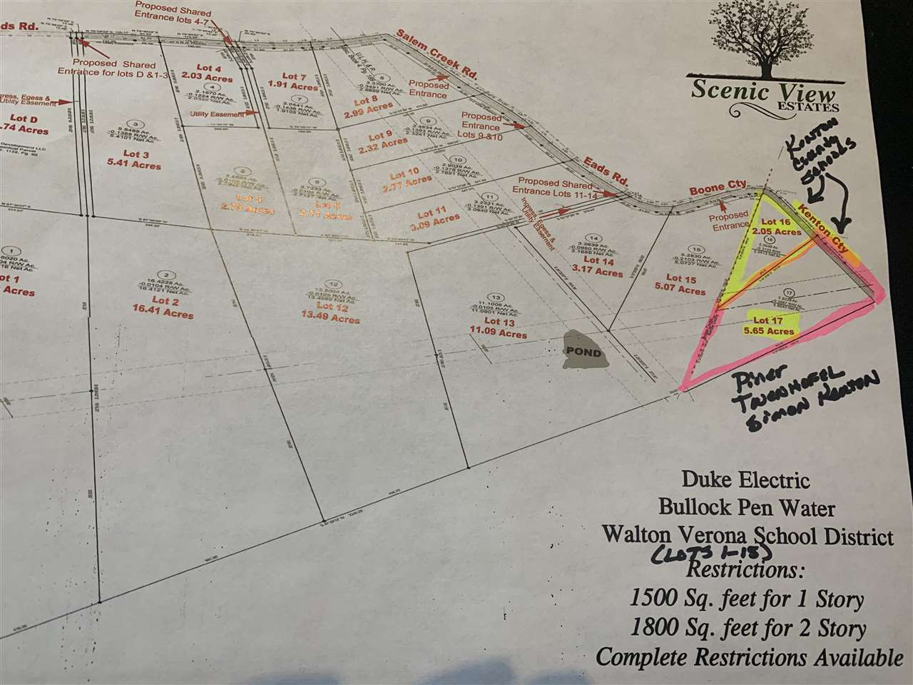 Photo 3 for Lot #17 Eads Rd Piner, KY 41033