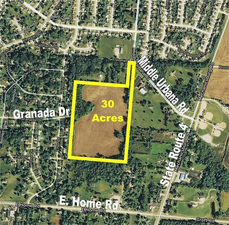 30 Acres Middle Urbana Rd Springfield, OH